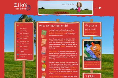 Ella's Kitchen…appointed Saatchi & Saatchi X