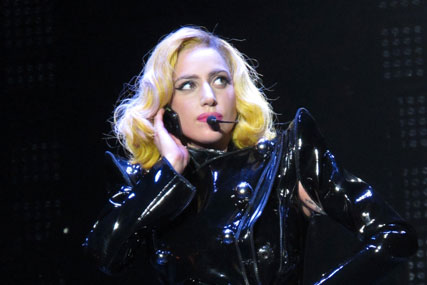 Lady Gaga: not shy of ad tie-ins