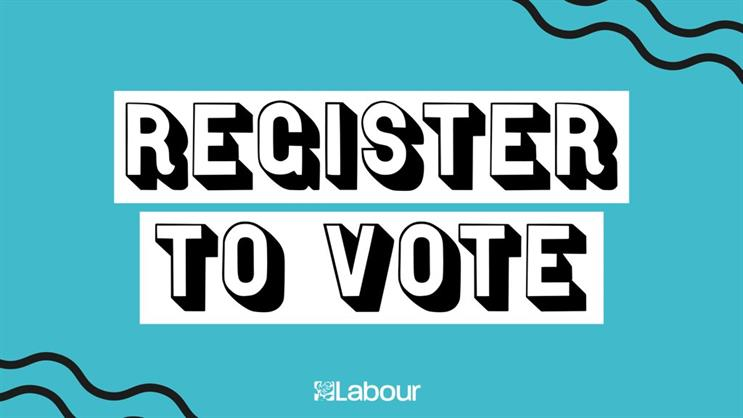 Labour online ad: encouraging voters to register
