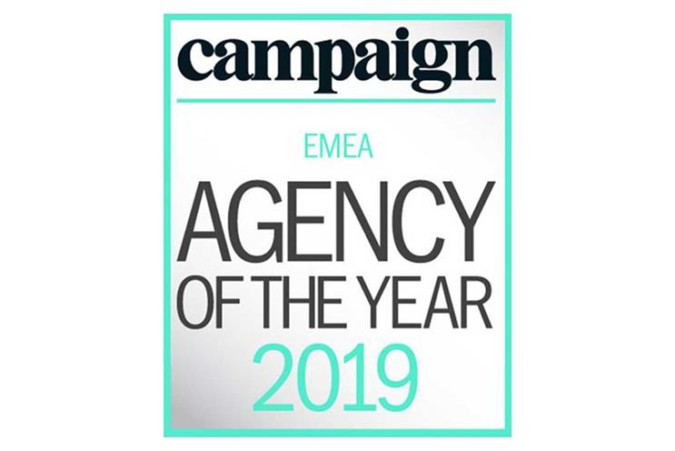 EMEA Agency of the Year: winners announced alongside UK awards