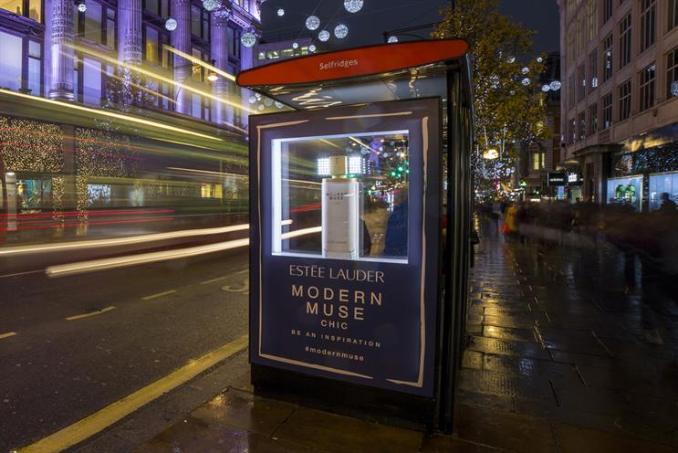 Outdoor Campaign of the Month: Estée Lauder - Modern Muse Chic