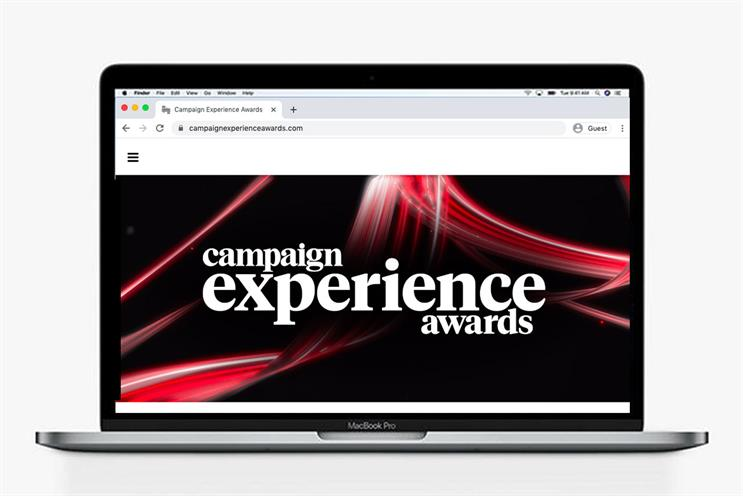 Campaign Experience Awards: Viewers can watch the announcements live