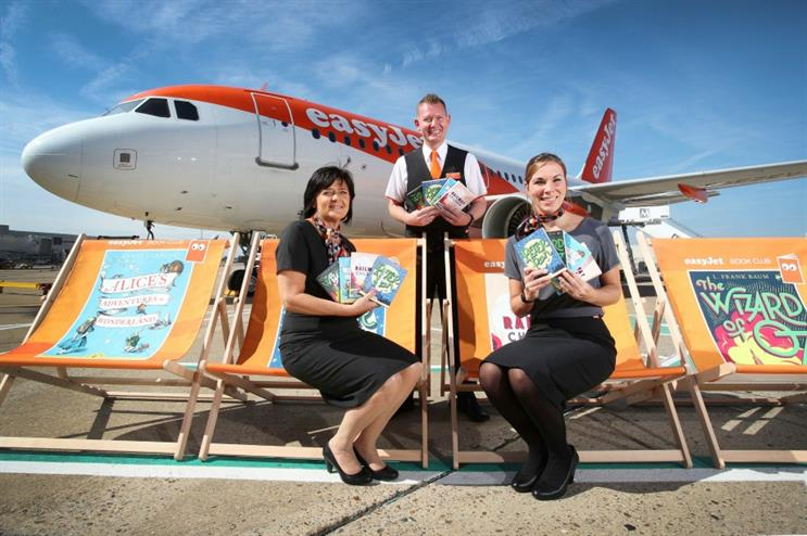 Easyjet launches 'Flybraries' campaign