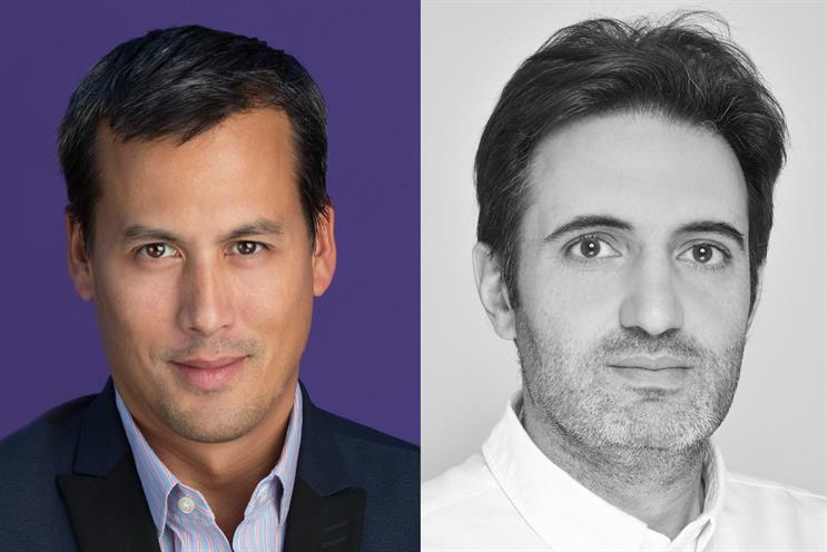Fraboulet (left) and Eid will jointly lead Ecselis' global operations