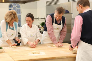 Generation Game cookery at Edinburgh New Town Cookery School