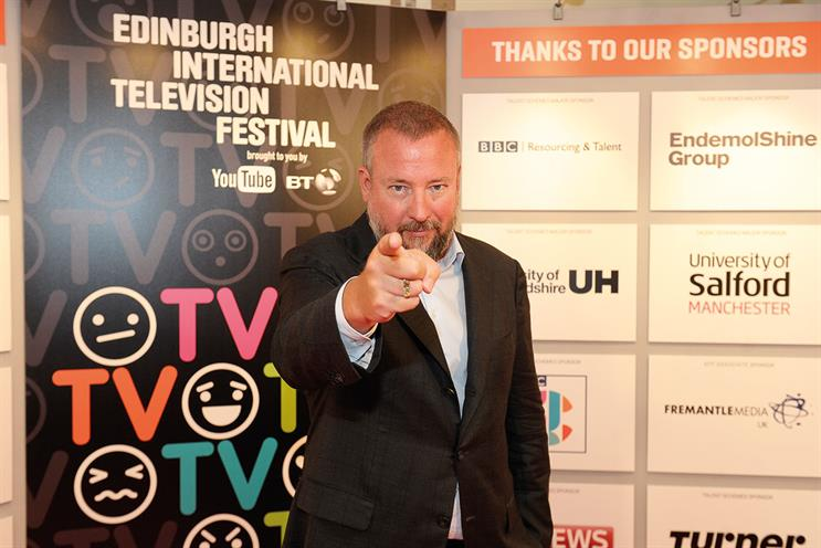Smith: Vice Media's co-founder divided the Edinburgh audience