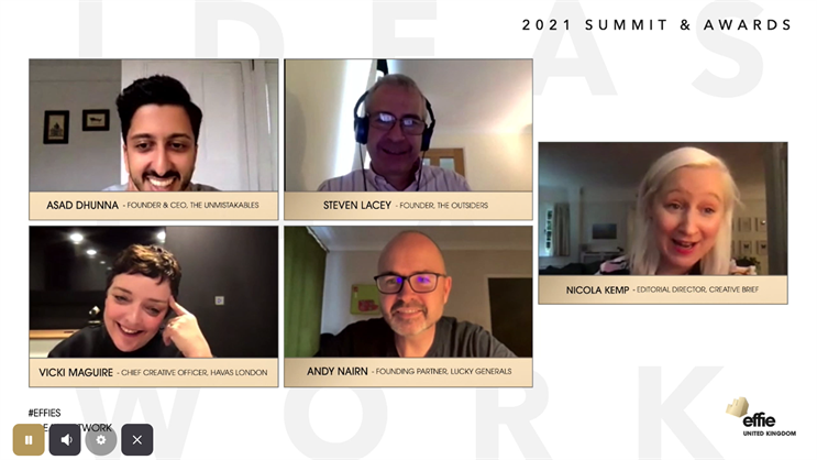 Effie summit: Dhunna, Lacey, Maguire, Nairn and Kemp