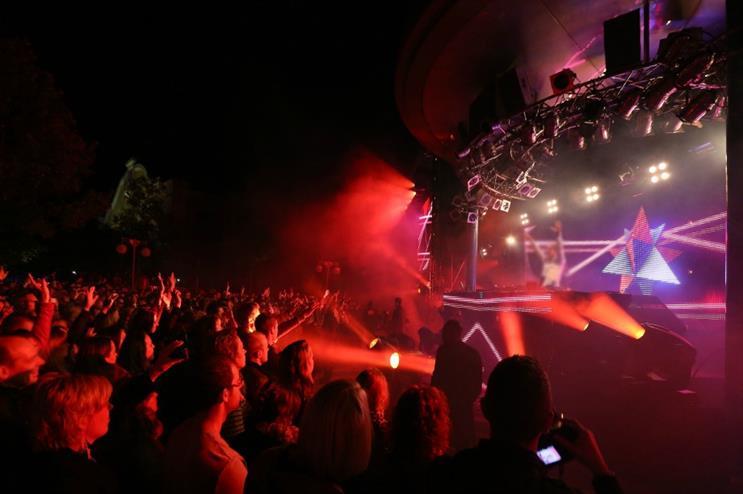Disneyland Paris: Electronic music festival