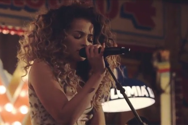 Lumia Live: the previous event was headlined by soul singer Ella Eyre