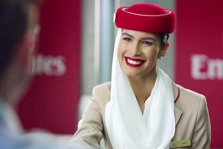 Emirates: appointed Havas Media in 2013