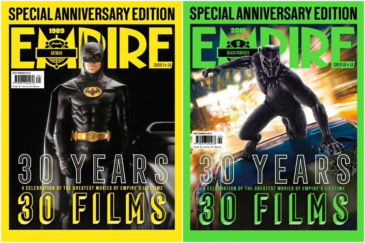 Empire: 1989's Batman and 2018's Black Panther