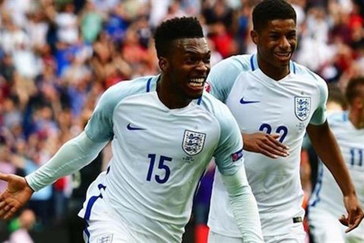 England's Daniel Sturridge and Marcus Rashford: will there be celebrations in Russia?