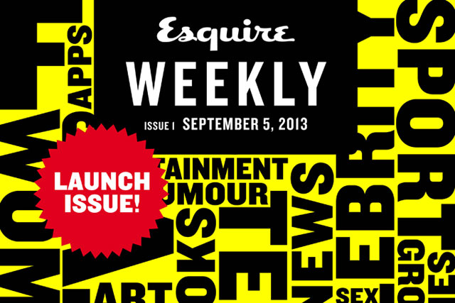 Esquire: Hearst title to launch 99p weekly tablet edition