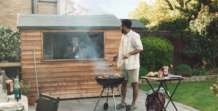 Aldi: ad features commentator Clive Tyldesley analysing a BBQ as if it were a football match