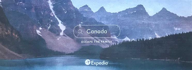 Expedia: ad appeared in newspapers alongside editorial articles