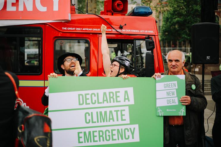 Extinction Rebellion: called on adland to tackle climate crisis (picture credit: Extinction Rebellion)