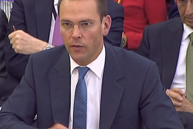 James Murdoch: re-elected chairman of BSkyB