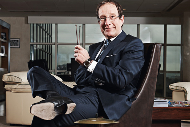 Richard Desmond: owner of the Daily Express