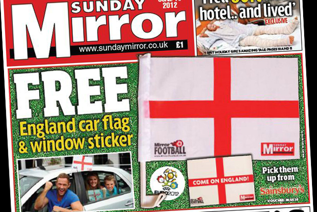 Sunday Mirror: posts strong figures for May