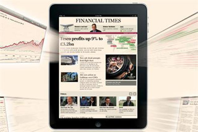 FT: iPad app nearing half a million downloads