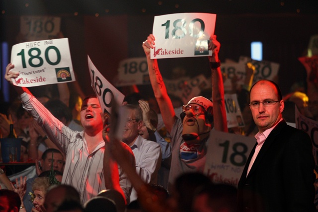 Darts is a serious sport