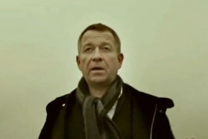 Labour election broadcast: Sean Pertwee talks to camera