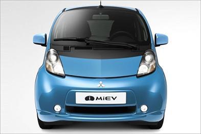 Mitsubishi: electric Miev city car