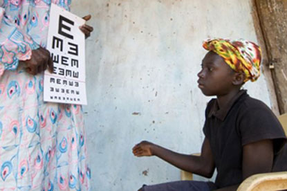 Sightsavers…appointed MPG