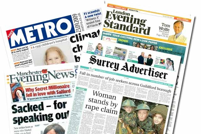 Northcliffe Media partners with Trinity Mirror for regional sales