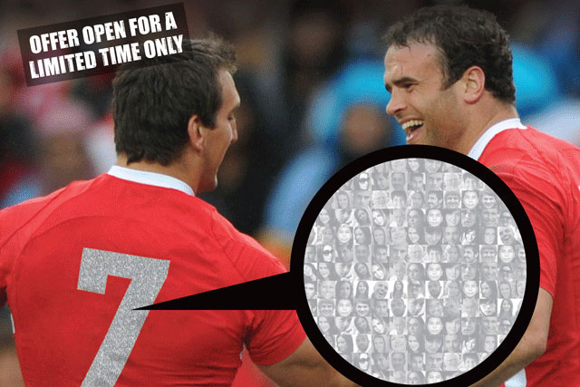 Playing2: fans to be offered the chance to have their faces on players' shirt numbers