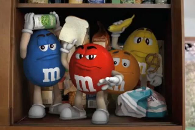 M&M's: chocolate brand's current Get in the Bowl TV campaign