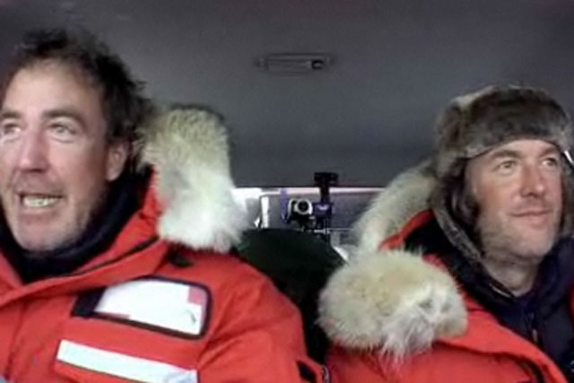 Top Gear: Polar Special goes live on Facebook for 15 credits
