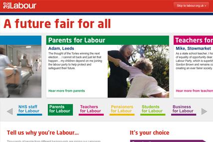 Labour Party: unveils 'a future fair for all' election slogan