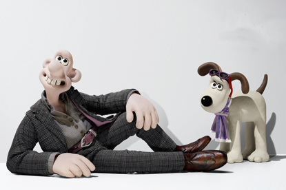 Harvey Nichols…stars Wallace and Gromit