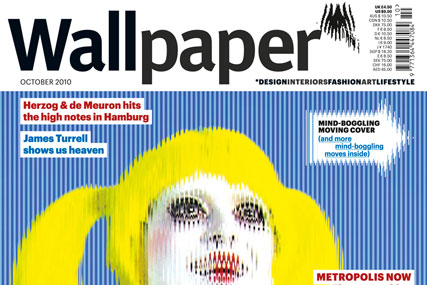 Wallpaper October Issue Features Moving Image Front Cover
