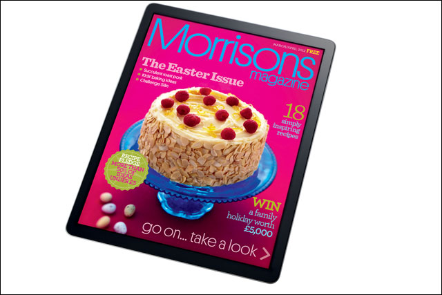 Morrisons: launches iPad app version of its magazine