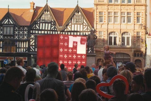 Santander: campaign based in Shrewsbury