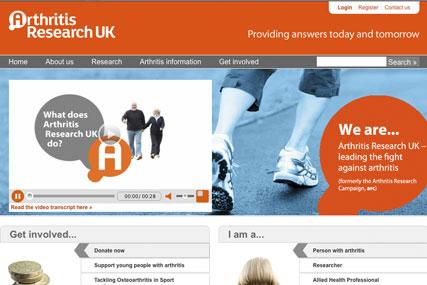 Arthritis Research UK: agency hunt