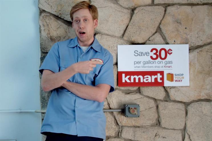 Kmart: top spot bags 272,000 shares this week