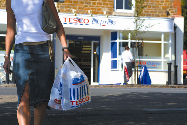 Tesco: launches glazing service