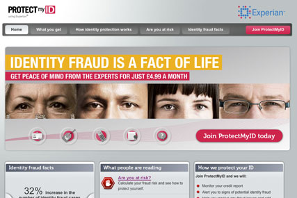Experian: raising awareness of identity theft