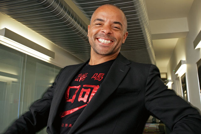 Jonathan Mildenhall found creative departments 'were not comfortable creating great characters who are black'