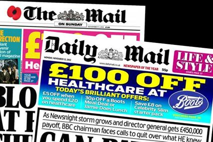 Mail Newspapers offer agencies £250k ad deal