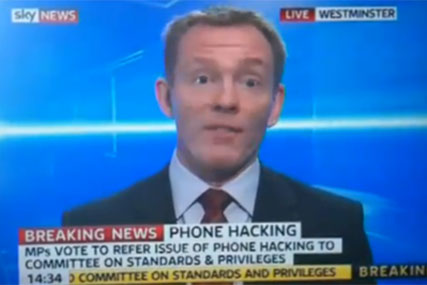 Kay Burley called a 'liar' live on air by phone hack MP