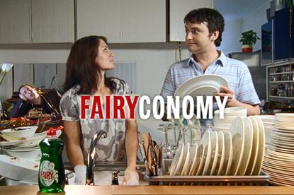 P&G... owns UK brand Fairy