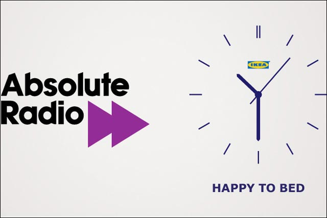 Absolute Radio: signs sponsorship deal with Ikea