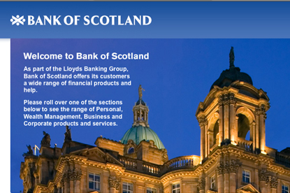 Bank of Scotland... account move