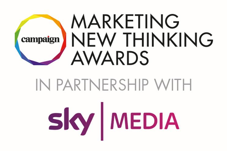 Sky Media revealed as headline partner of Campaign's Marketing New Thinking Awards 2018