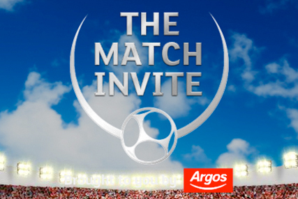 Argos:The Match Invite forms part of retailer's summer promotion