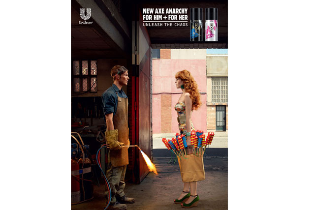 Shortlisted: Unilever's 'Fireworks' ad for brand Axe by BBH